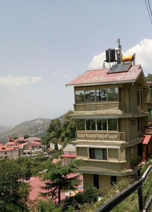 B&B  Approved Independet house for sale at Near longwood Shimla — Drive in —- Covered Area – 3000 sqf —- Total Floor  -3 — Total rooms – 3 —- Beautiful View — Price – 4 cr