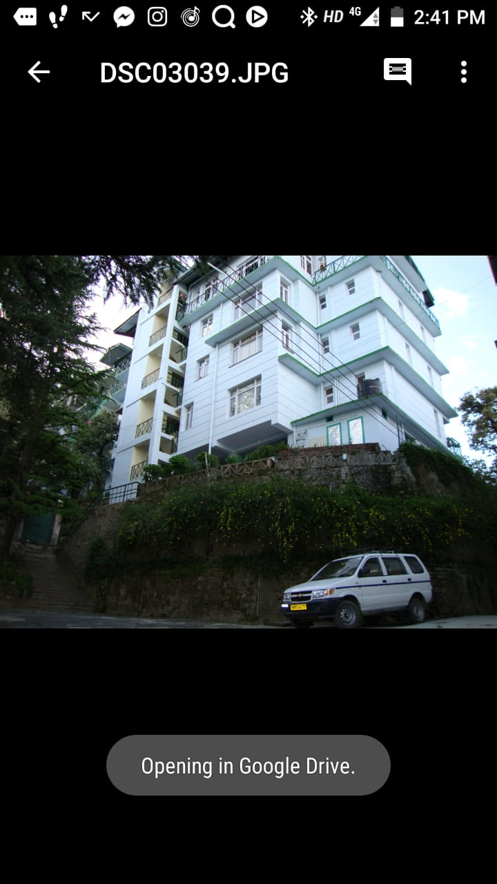 1 Bhk Flat for sale at Bharari Shimla  — Drive in —- Society Flat —- Covered Area – 760 Sqf — Price – 48 Lakhs