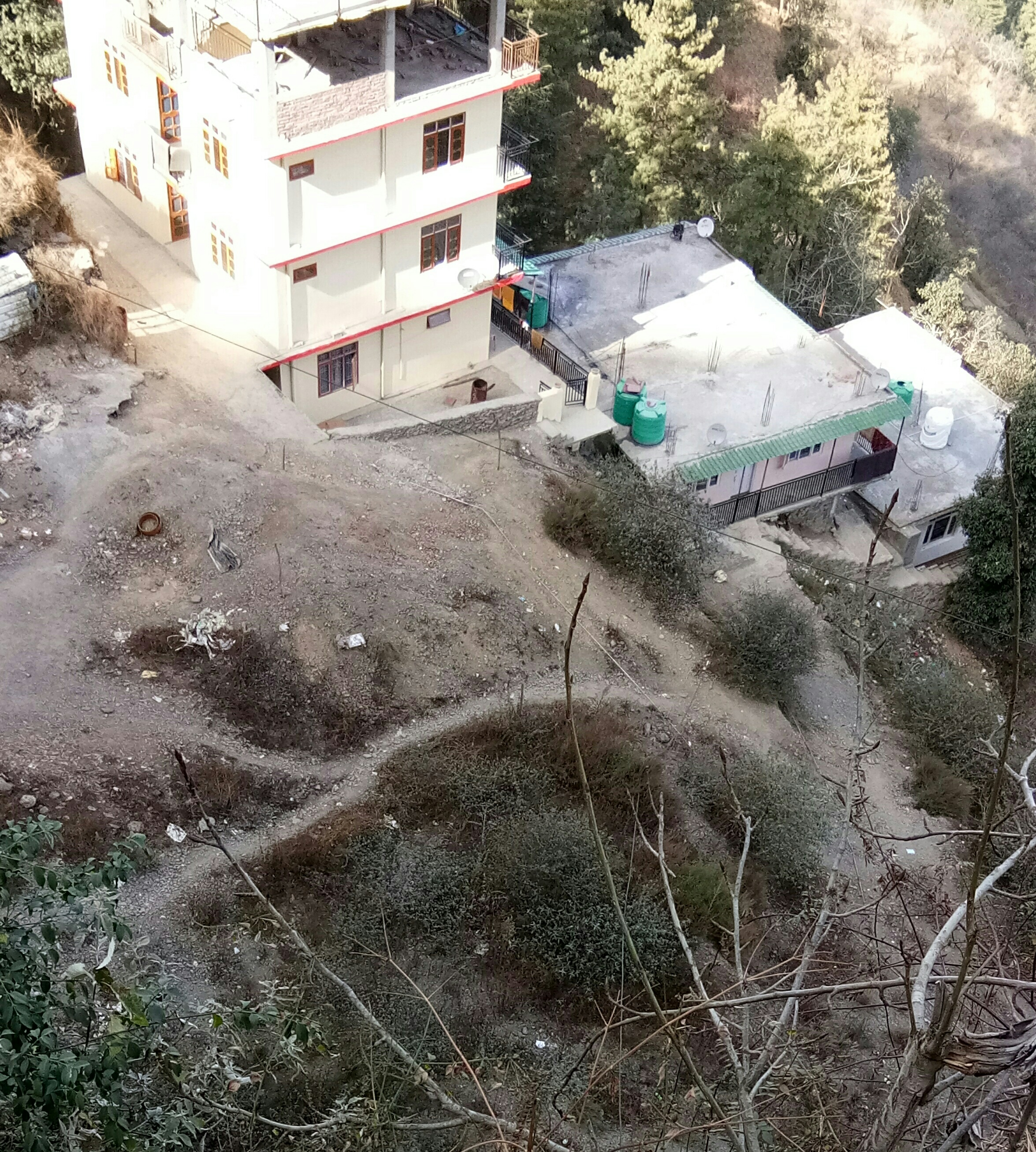 12 Biswa Plot for Sale at Sanjauli – Dhalli by pass Shimla —- Non drive — Distance from main road only 25m —- Residential plot —- 300m from Dhalli Chowk — Price – 75 lakhs