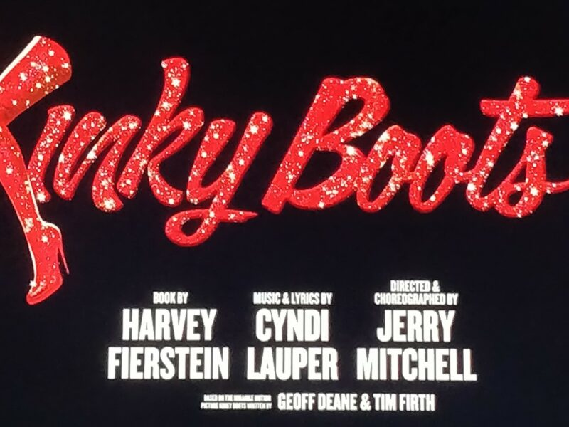 MINI-REVIEW – KINKY BOOTS – FILMED PERFORMANCE