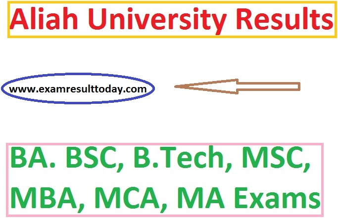 Aliah University Results