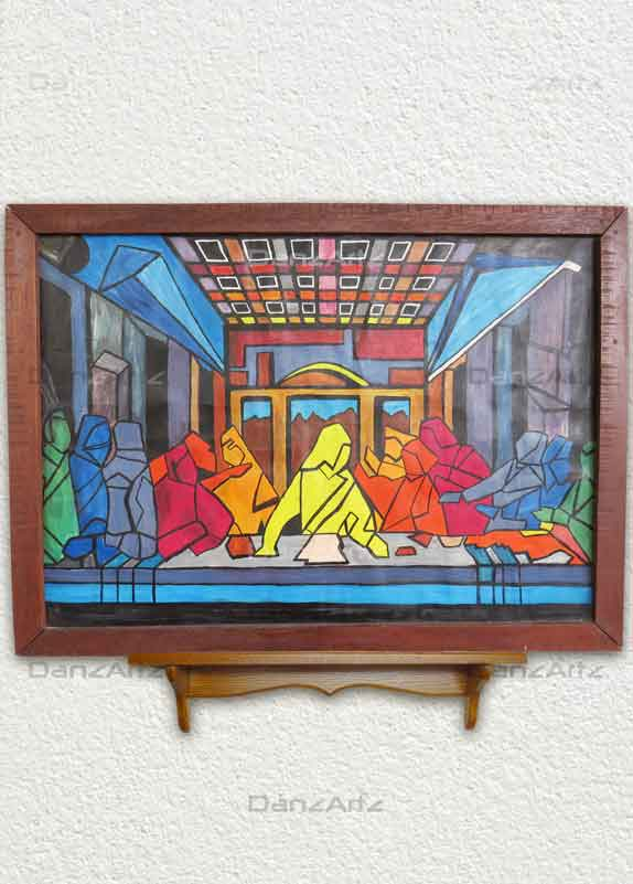 Last Supper-The Bread of Life (72x52 cm)