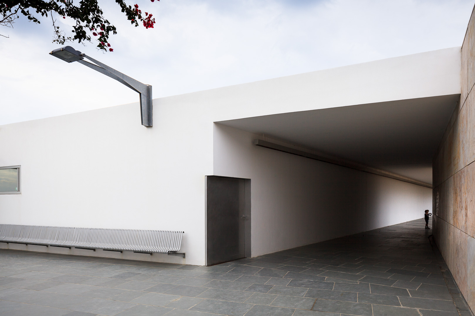 Courtyard of the Museum building of Baelo Claudia