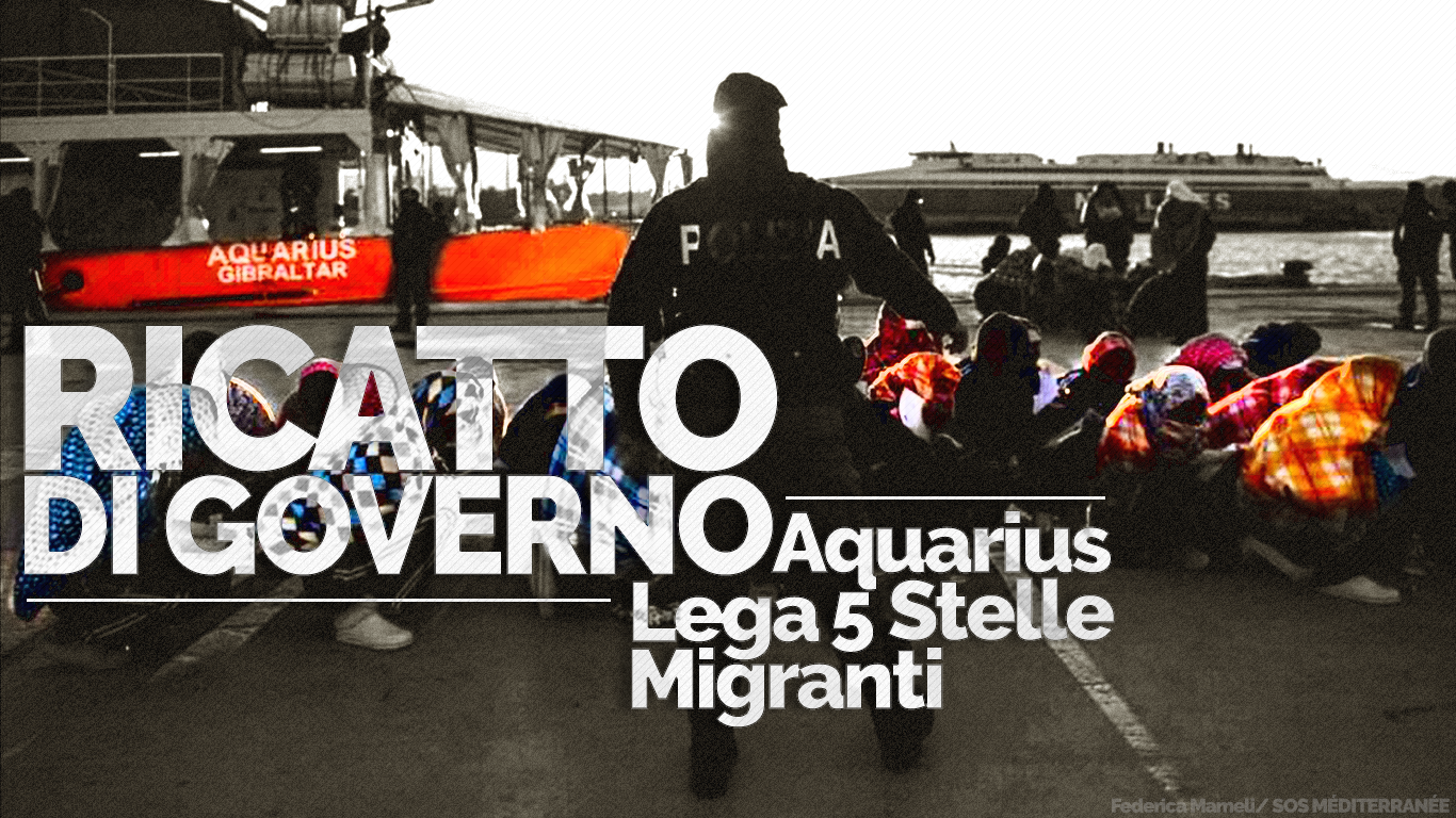 aquarius ricatto salvini
