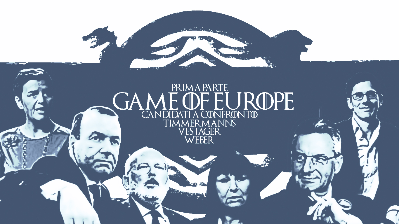 weber, timmermanns, vestager, salvini, europa, s&d, ppe, alde, elezioni europee 2019, elezioni, games of thrones, season 1, season 8, parody, europe, european union, partiti europei