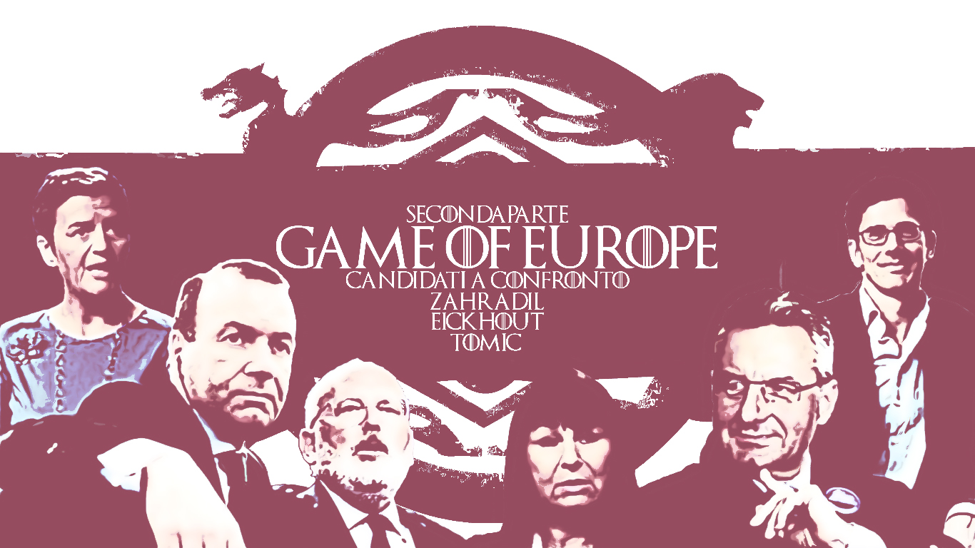 zahradil, tomic, eickhout, weber, timmermanns, vestager, salvini, europa, s&d, ppe, alde, elezioni europee 2019, elezioni, games of thrones, season 1, season 8, parody, europe, european union, partiti europei