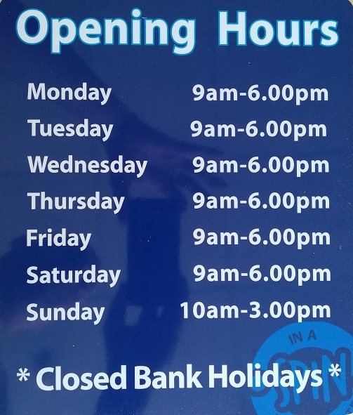 In a spin launderette camborne opening hours