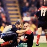 Tony Roques and Nigel UK Premiership action