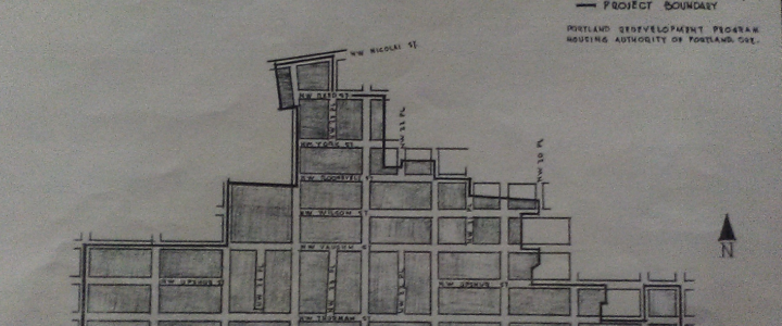 Fun Fact #35 How many blocks in Slabtown were slated for Urban Renewal/Residential Demolition in 1952?