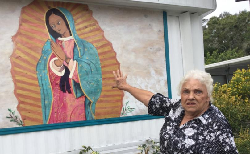 Florida woman, 85, fighting to keep painting of Virgin Mary