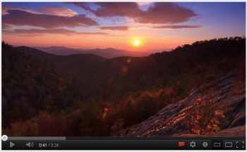 Video: Gorgeous timelapse of Asheville mountains in fall