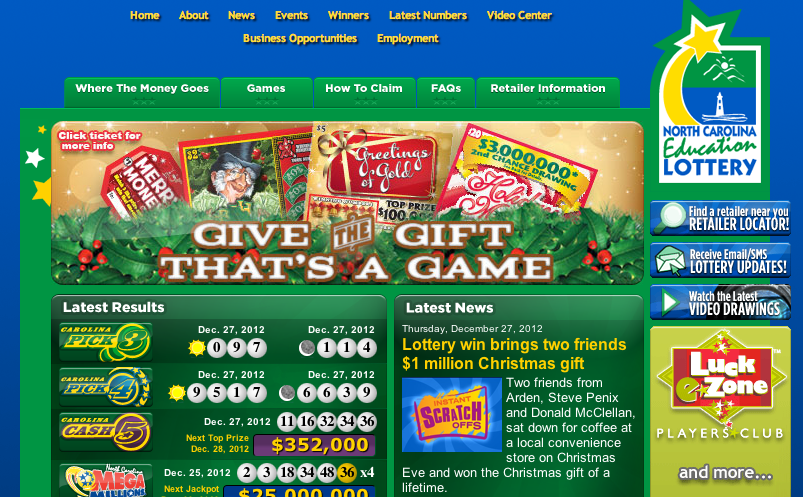Christmas Eve lottery winners from Arden will split $1 million prize