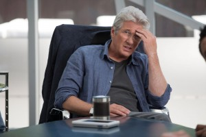 What dirt do they have on you, Mr. Gere?(Relativity Media)