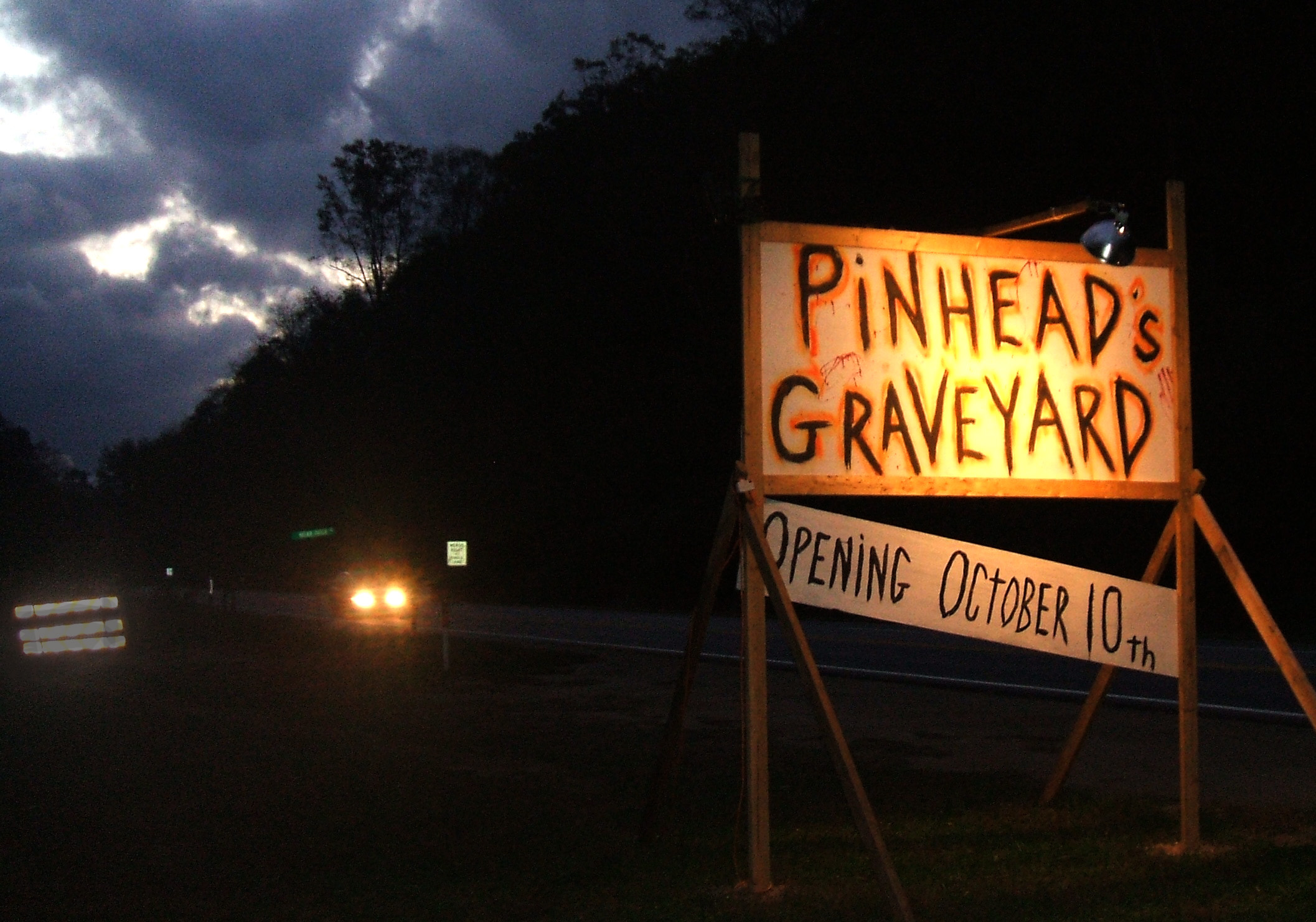 Stuff Monsters Like: It's fun to be frightened at Pinheads Graveyard in Canton