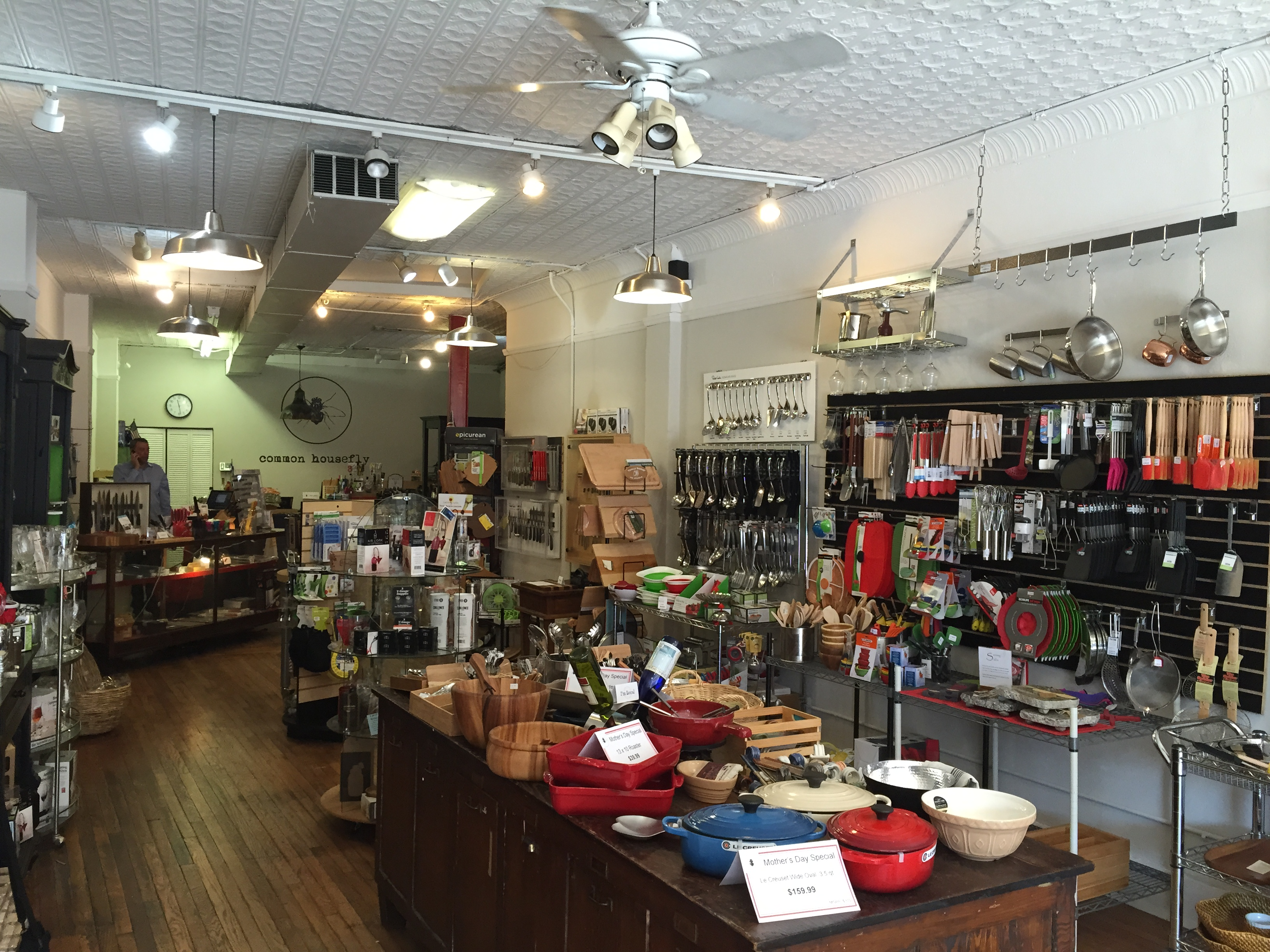 In Black Mountain, the Common Housefly kitchen emporium is 'toy store for foodies'