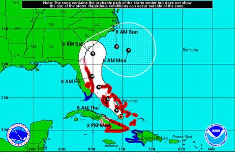 Mountains become refuge for Charleston, other coastal residents fleeing Hurricane Matthew