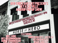 Red Truck Gallery's Shaffer in Asheville for special Horse + Hero pop-up show