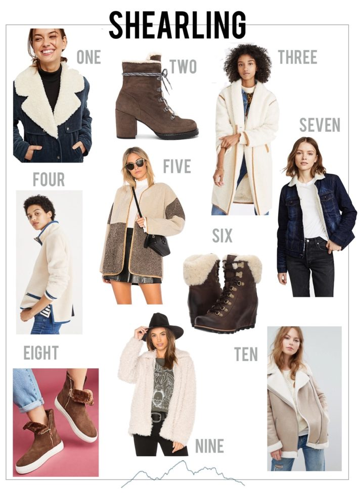 Shop Shearling Trends from Jackson Hole Blogger