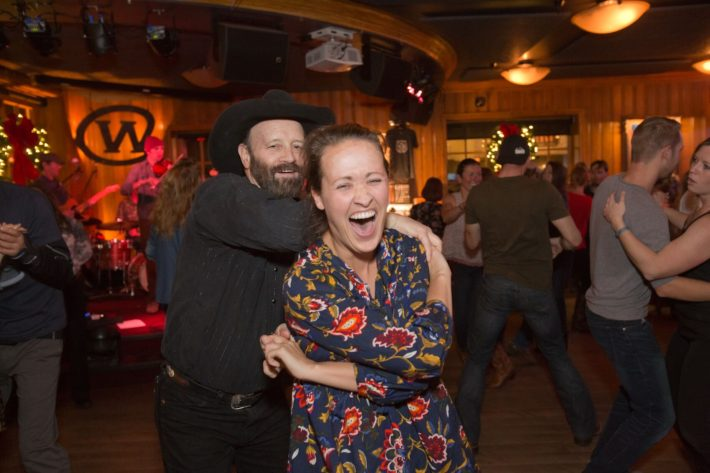 The Wort Hotel Dancing in Jackson Hole, Wyoming