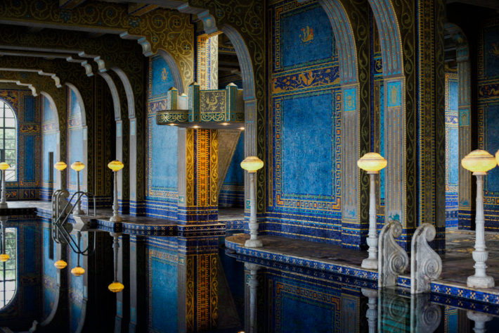 Hearst Castle Gold Pool. Highway 1 California Roadtrip