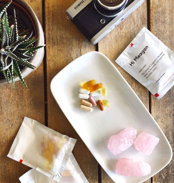 Care/Of Vitamins is personalized approach to your daily vitamin pack with better ingredients