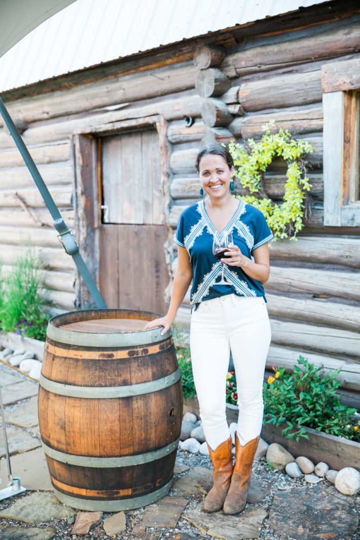 Jackson Hole Blogger at Jackson Hole Winery