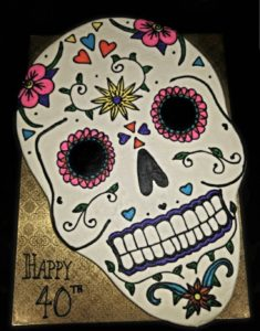 Day of the Dead Cake
