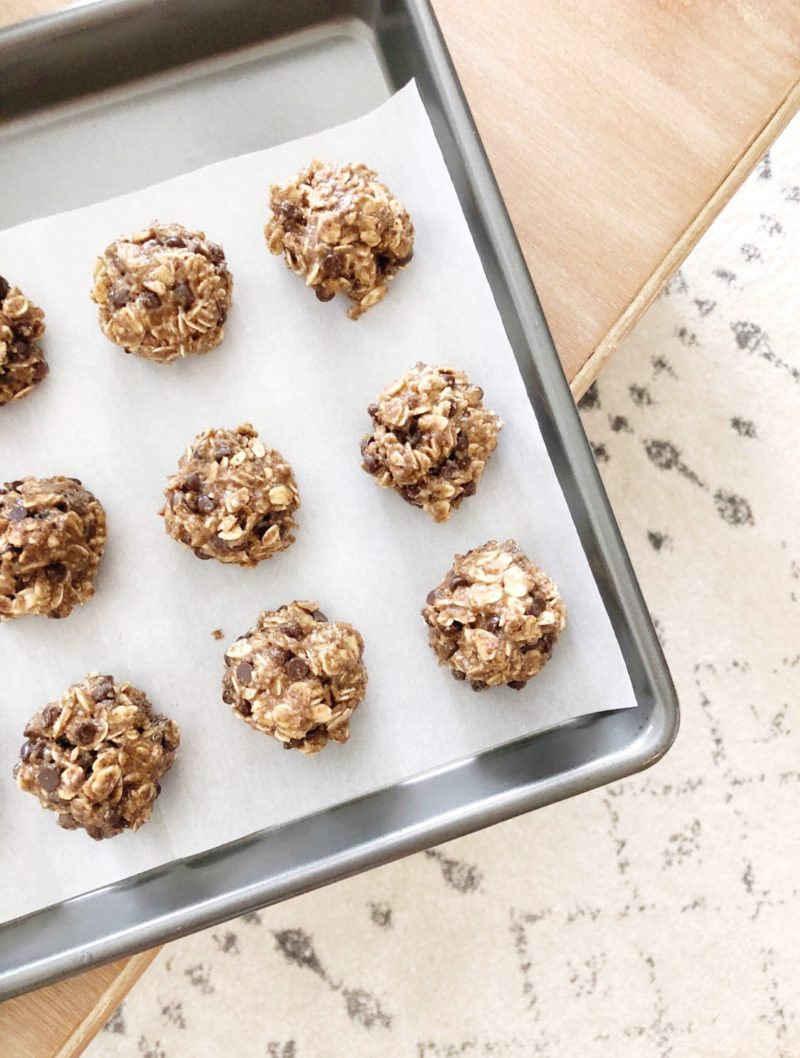 No Bake Oatmeal Chocolate Chip Cookie Bites, Energy Bites