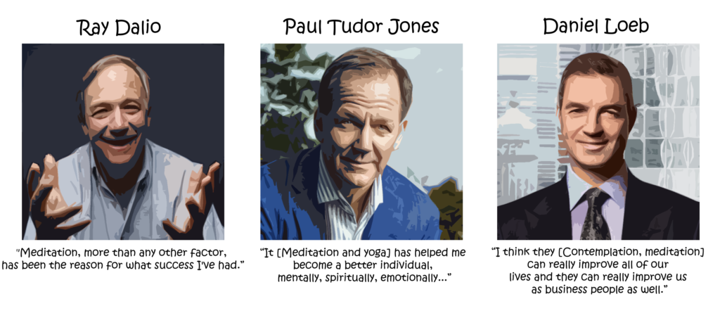Ray Dalio, Paul Tudor Jones, Daniel Loeb