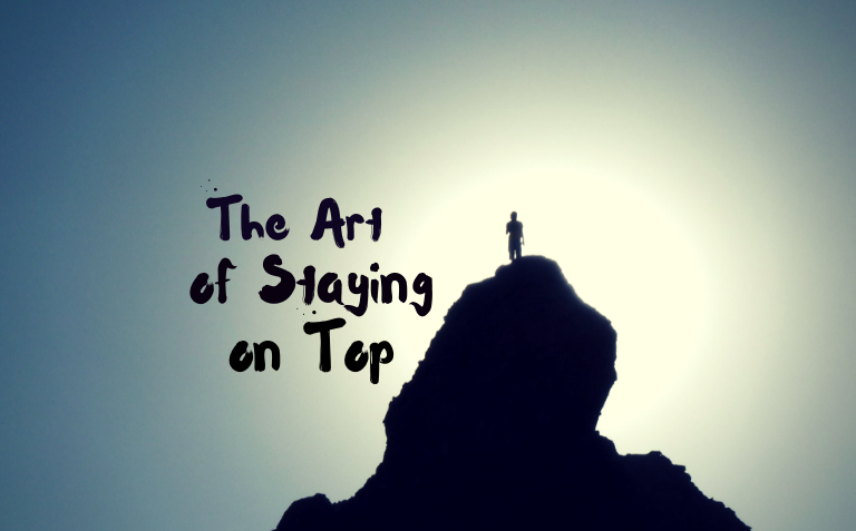 Trading -- The Art of Staying on Top