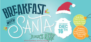 Christmas Time on St. Pete Beach - Breakfast with Santa