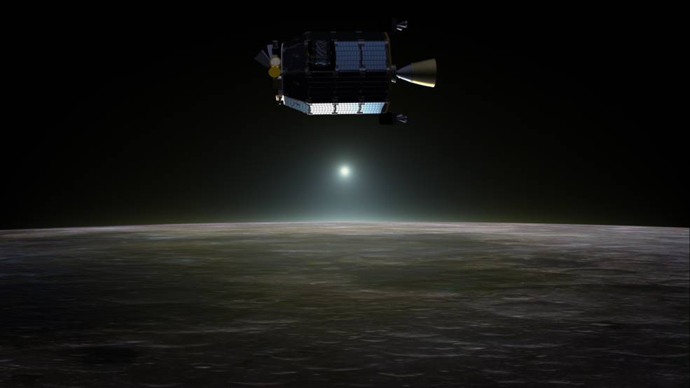 Explorador lunar LADEE- Dana Berry, NASA
