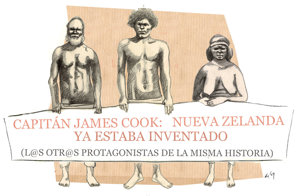 James-Cook y Nueva Zelanda
