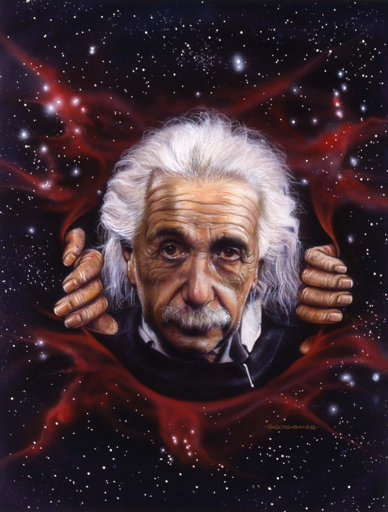 Albert Einstein- Tim Scoggins