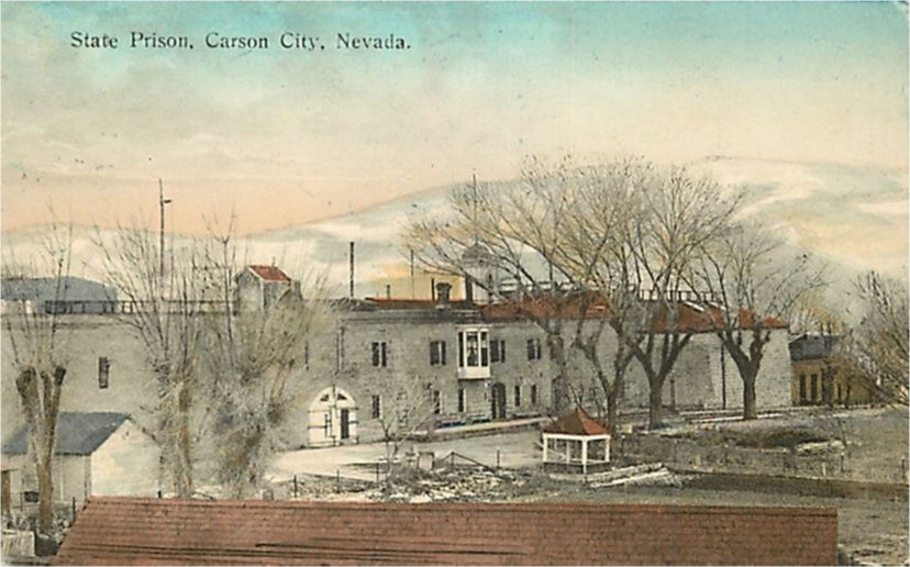 Nevada State Prison, Popular Post Card Image 1924