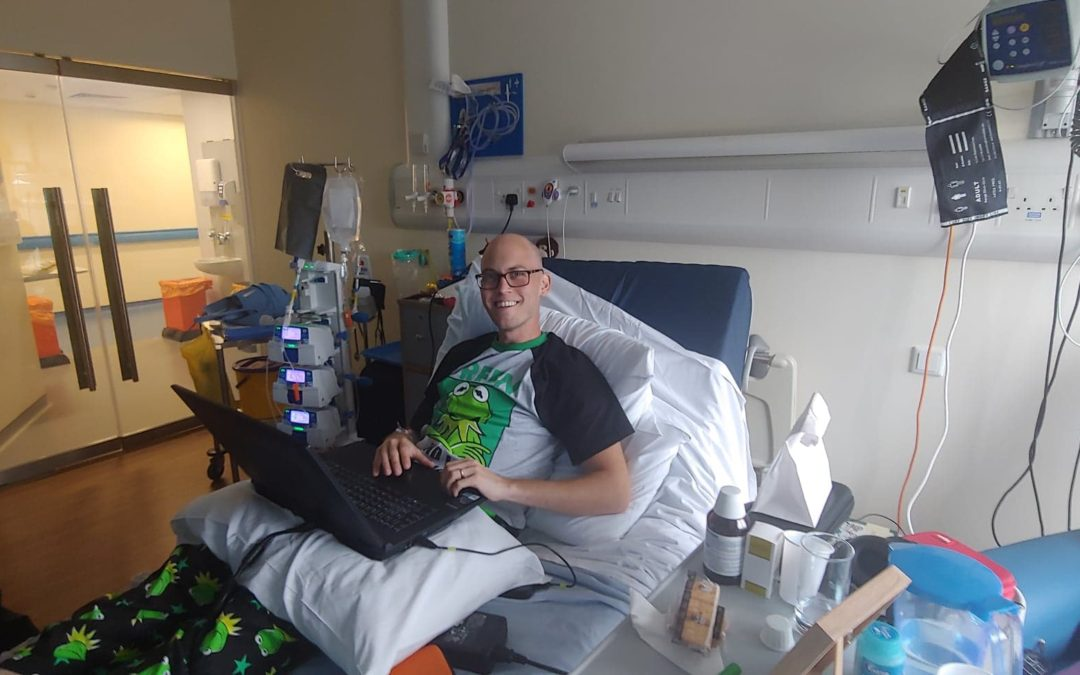 Chris has been in hospital – but the edits continue!