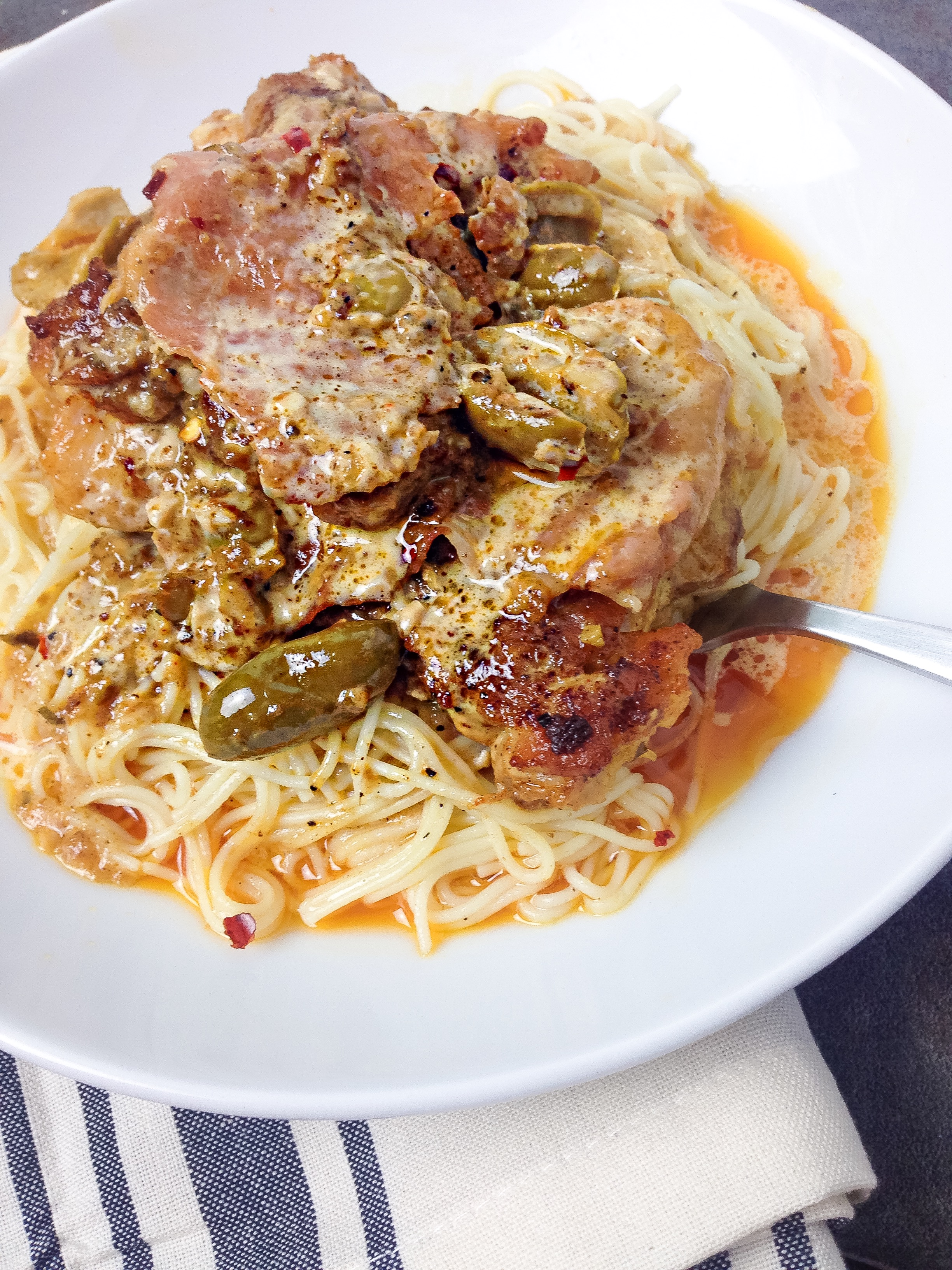 chicken-thighs-with-olives-and-prosciutto