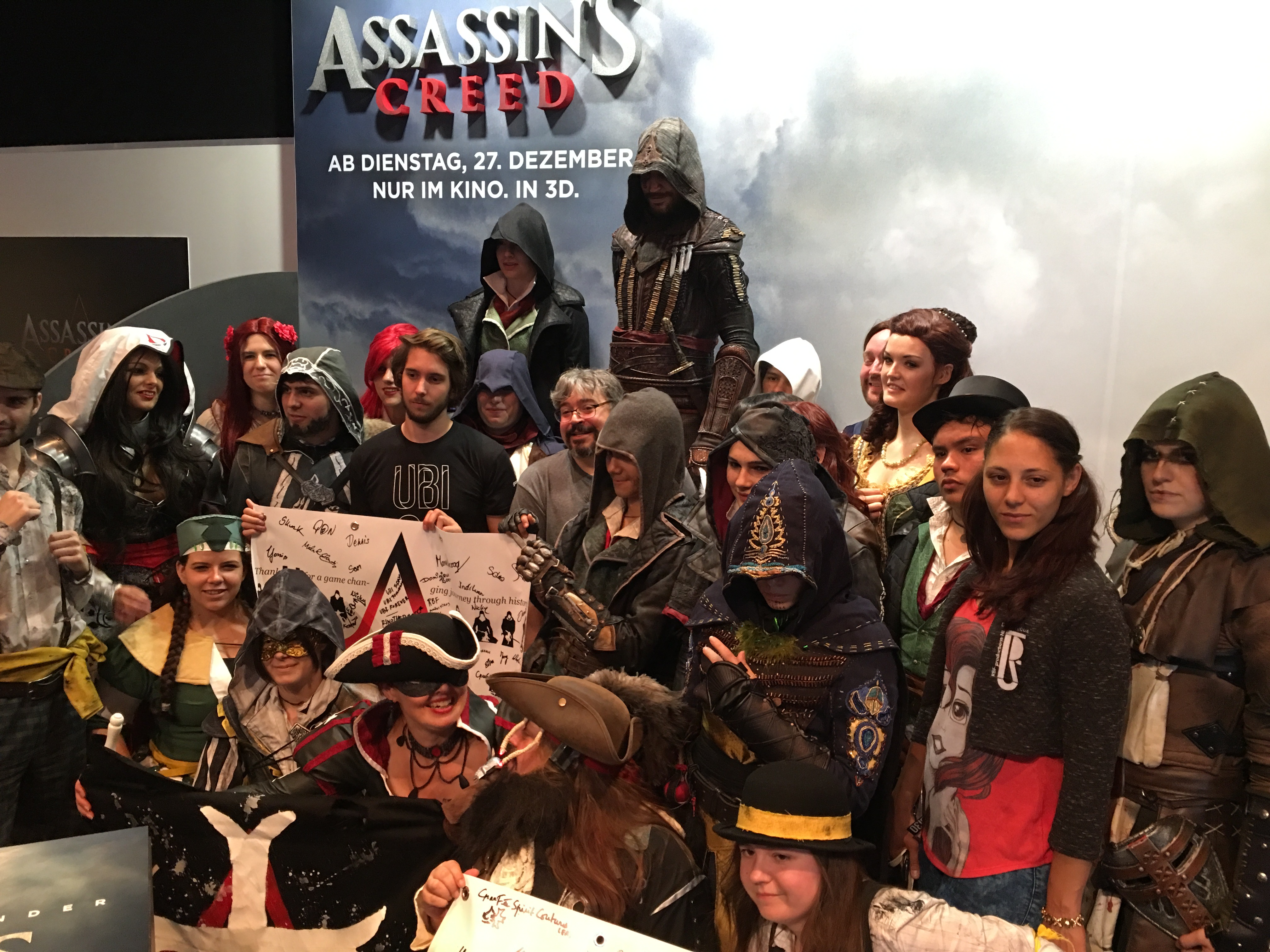 Assassin's Creed Cosplayers