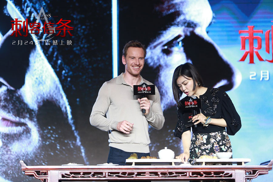 Assassin's Creed Movie Promo In China