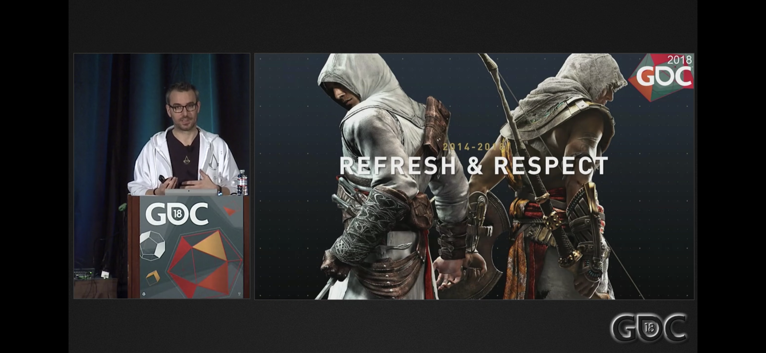 GDC Talk: 10 Years of Assassin's Creed
