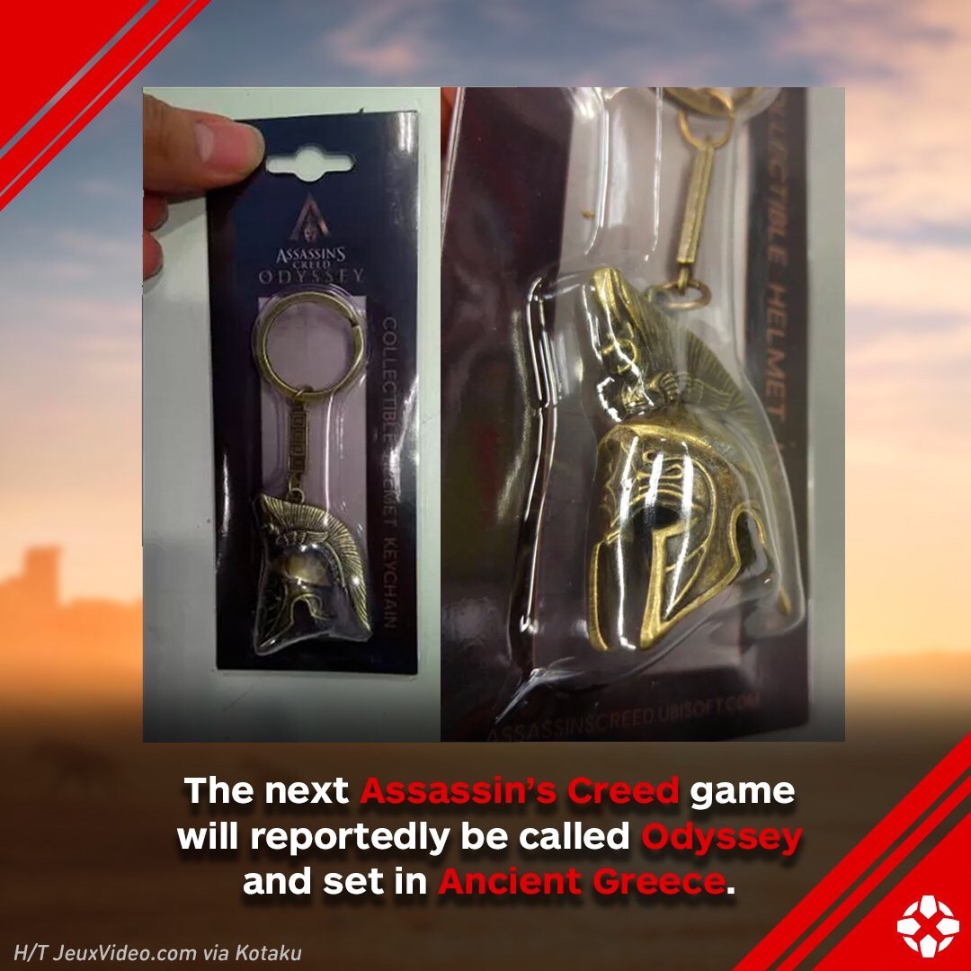Assassin's Creed Odyssey Confirmed with Merchandise Photo?