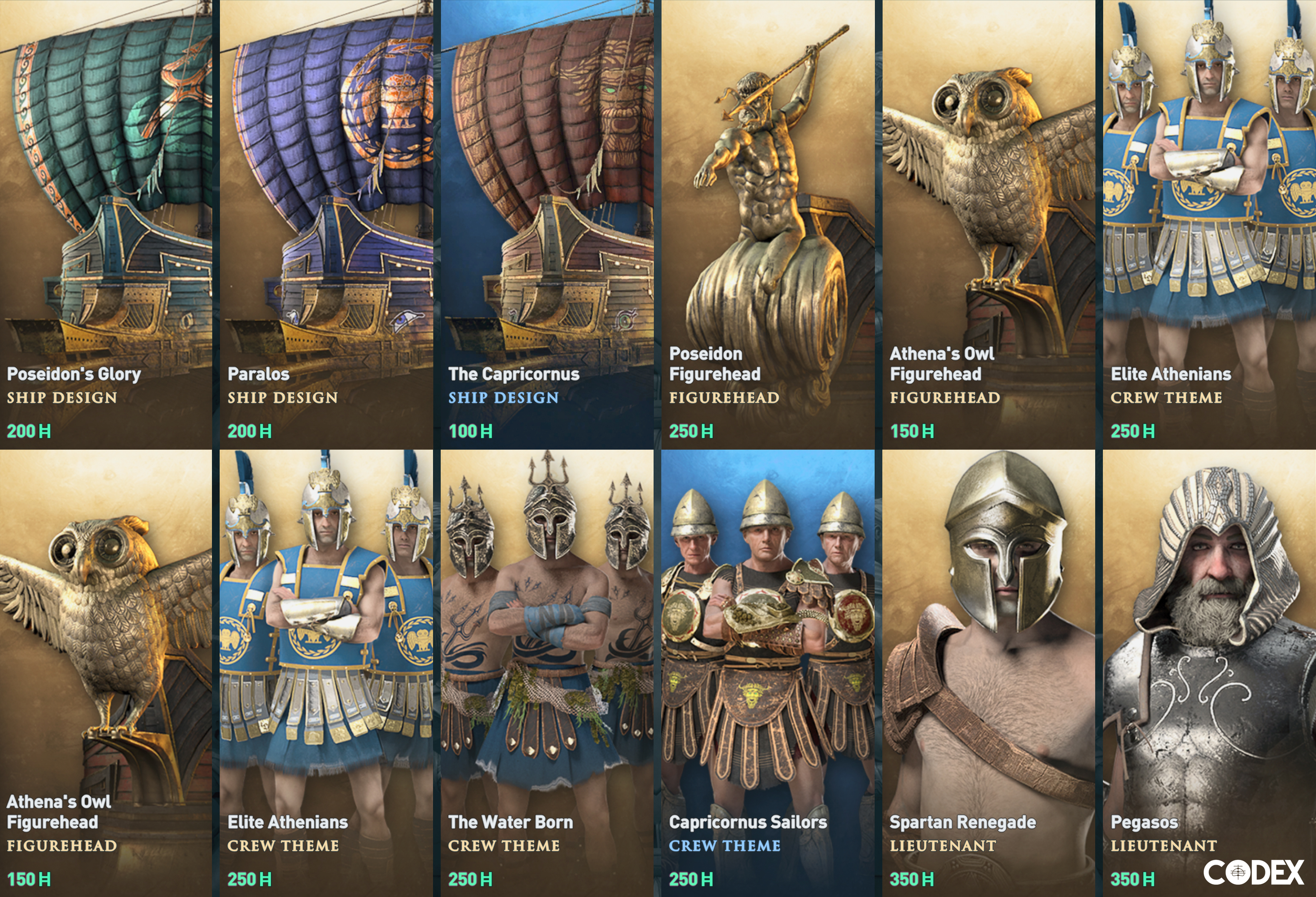 The Codex – Assassin's Creed Odyssey – Helix Store Goodies