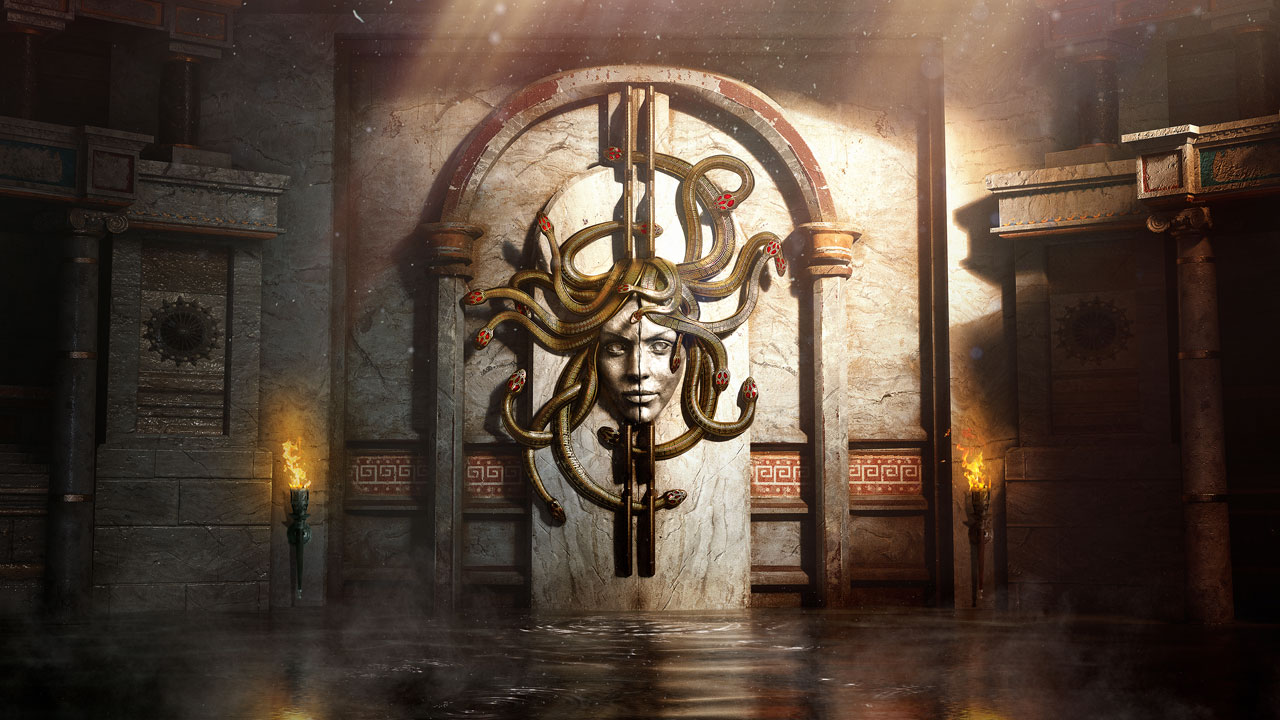 Beyond Medusa's Gate – An Assassin's Creed Odyssey-inspired VR Escape Room