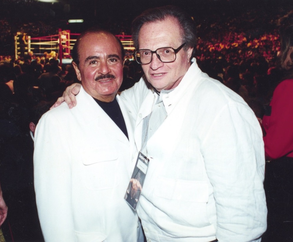 Adnan Khashoggi with Larry King