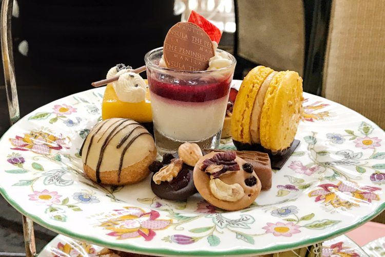 HIGH TEA AT THE PENINSULA MANILA