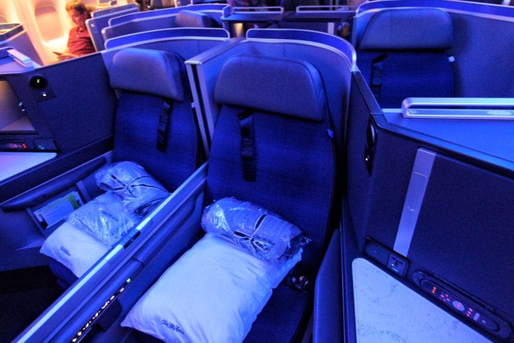 UNITED'S POLARIS BUSINESS CLASS EXPERIENCE