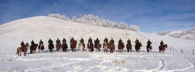 King's Own Calgary Regiment - Exercise Mounted Scout
