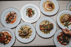 Variety of Entrees