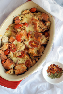 Cheesy Tomato Bake