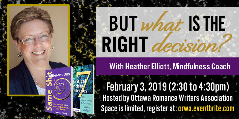 Recap Feb 2019: Successful Author Mindset with Heather Elliott